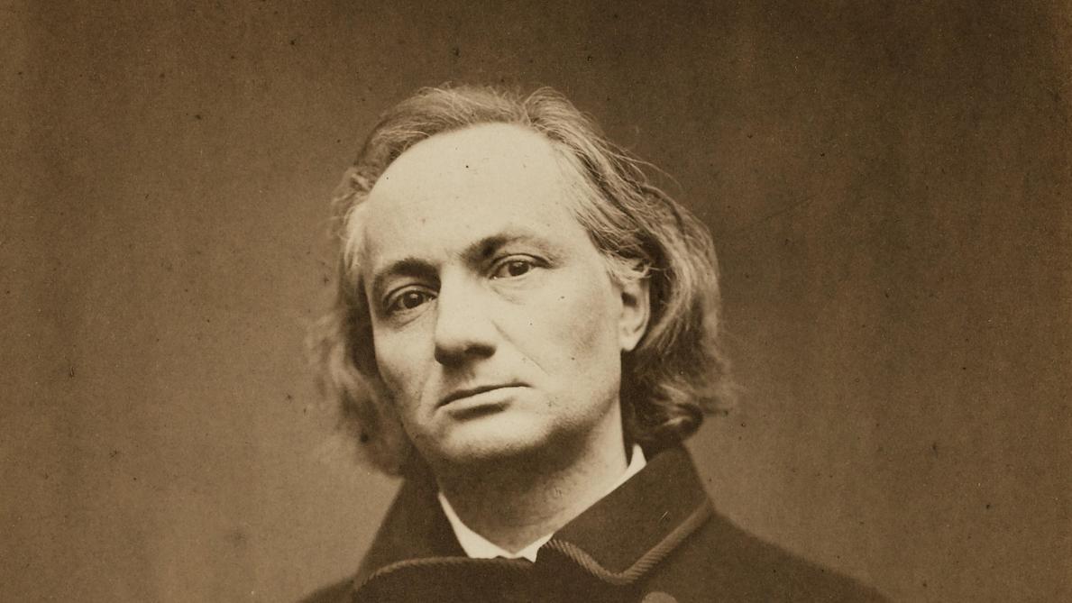 Portrait du poète Charles Baudelaire (9 avril 1821- 31 août 1867)