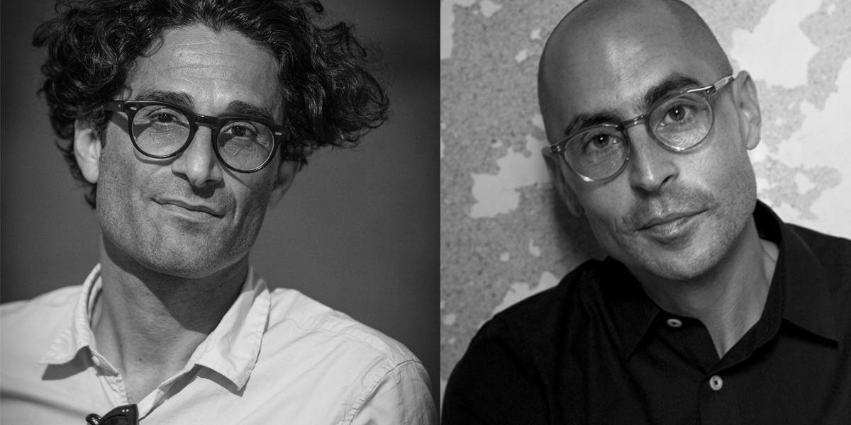 Portraits des philosophes Raphael Zagury-Orly et Joseph Cohen.