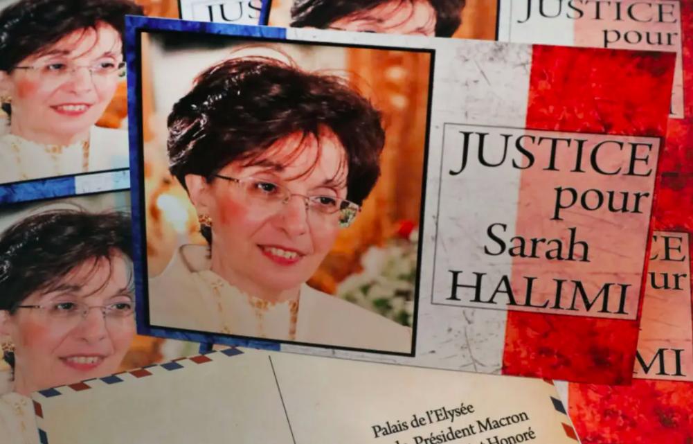 Cartes postales envoyées à Emmanuel Macron pour réclamer justice pour Sarah Halimi. Dr.