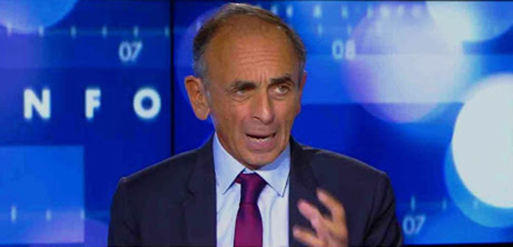 Eric Zemmour, le polémiste de CNews.