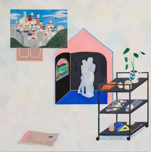 Peinture de Garance Matton