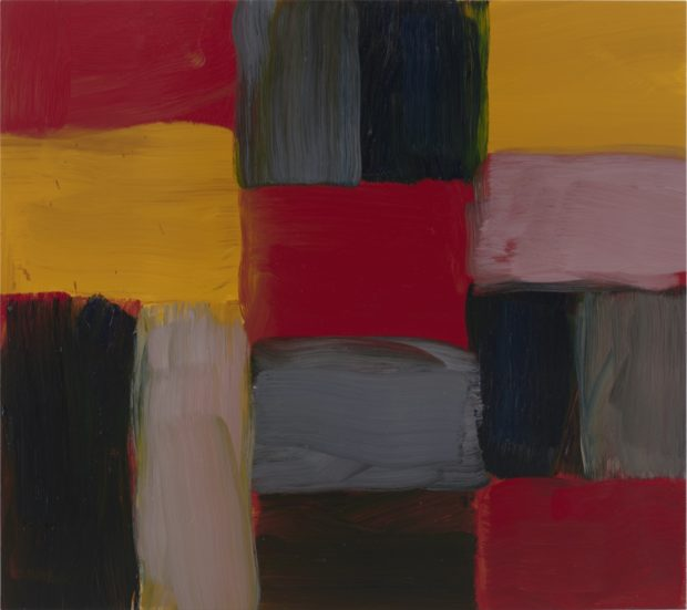 Painting of Sean Scully Wall Pink, 2020