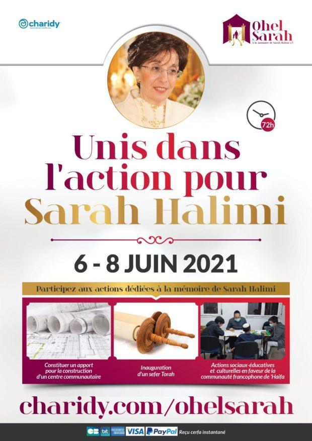 Unis dans l'action pour Sarah Halimi.