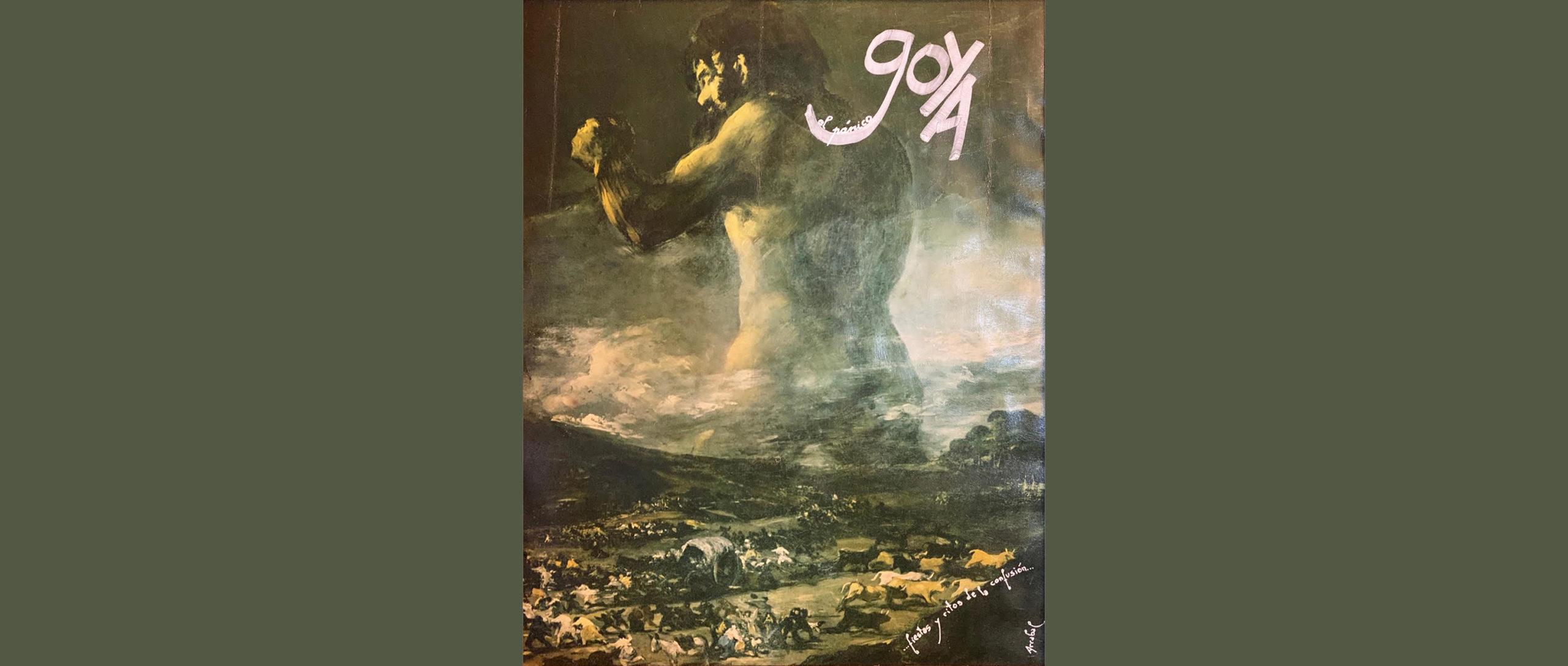 Hommage de Fernando Arrabal à Goya.
