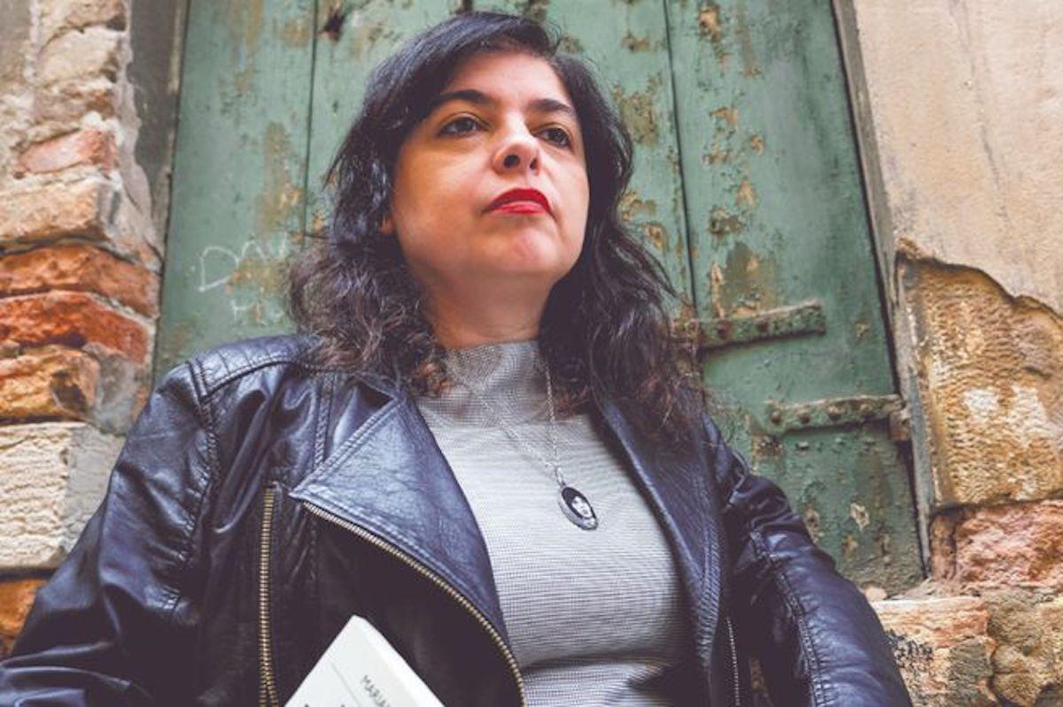 Portrait de la romancière argentine Mariana Enríquez.