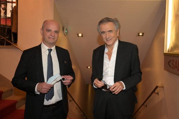 Jean-Michel Blanquer et Bernard-Henri Lévy