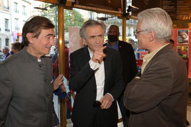 Philippe Douste-Blazy, Bernard-Henri Lévy et André Comte-Sponville