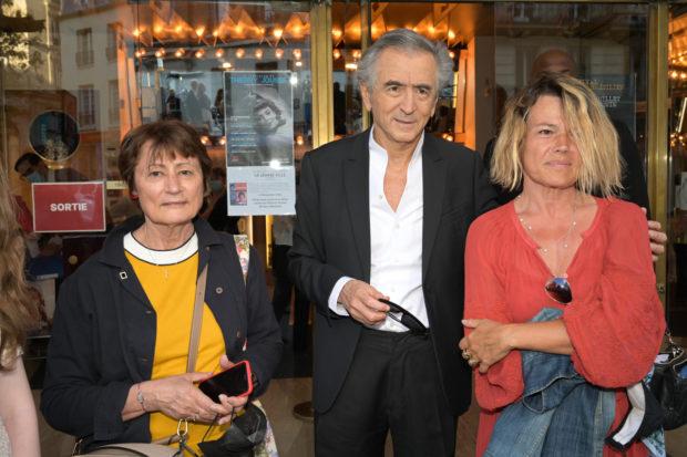 Portraits Catherine Millet, Bernard-Henri-Lévy et Kristina Larsen