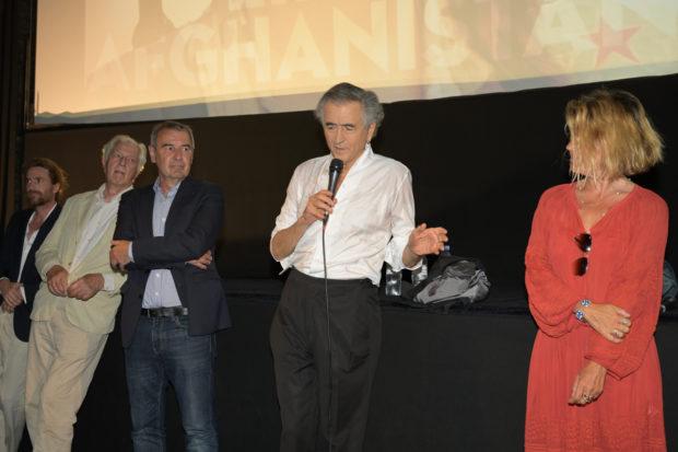 Olivier Jacquin, Gilles Hertzog BHL et Kristina Larsen