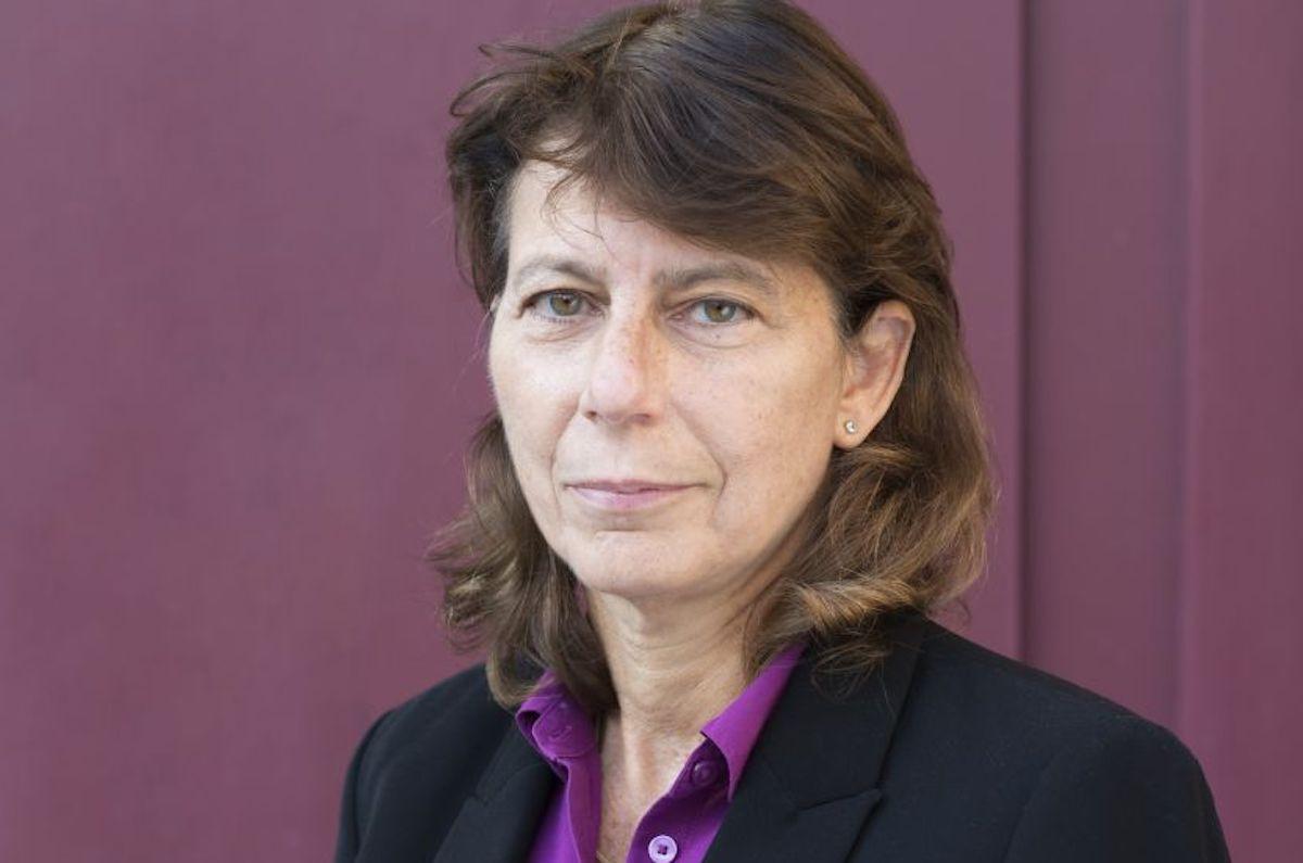 Portrait de la philosophe Perrine Simon-Nahum.