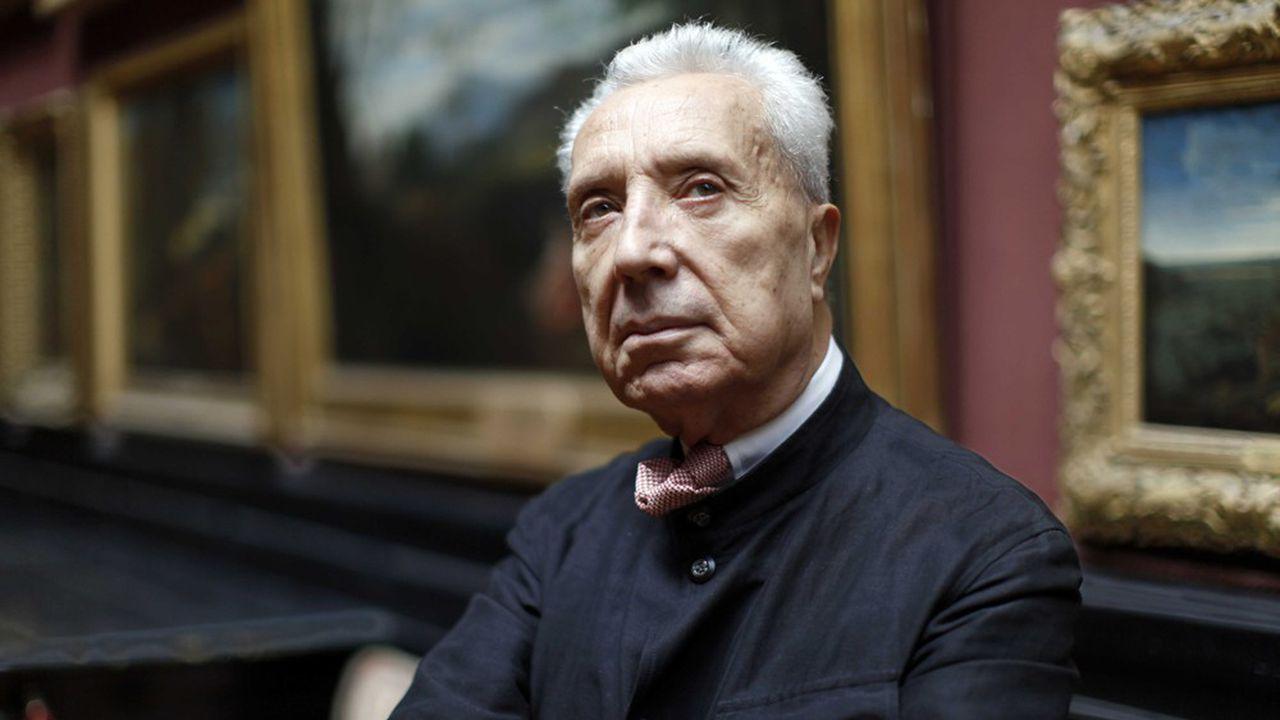 Portrait de l'académicien Marc Fumaroli
