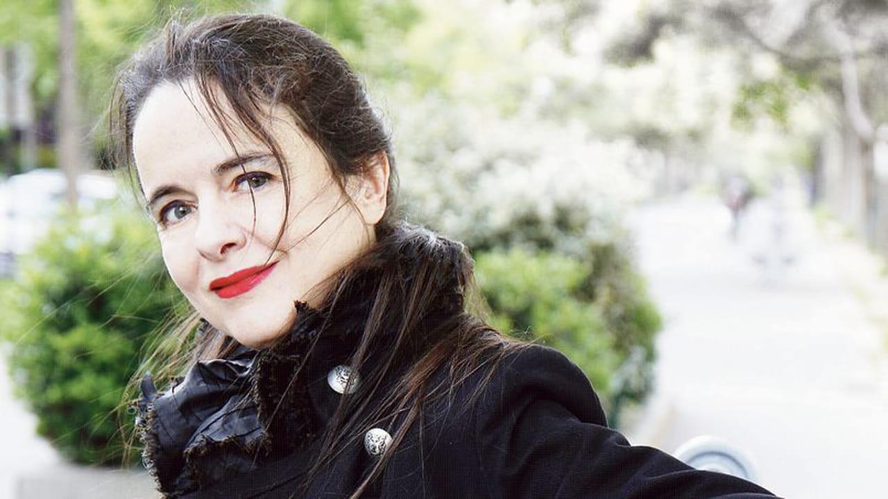 Portrait de l'écrivain Amélie Nothomb