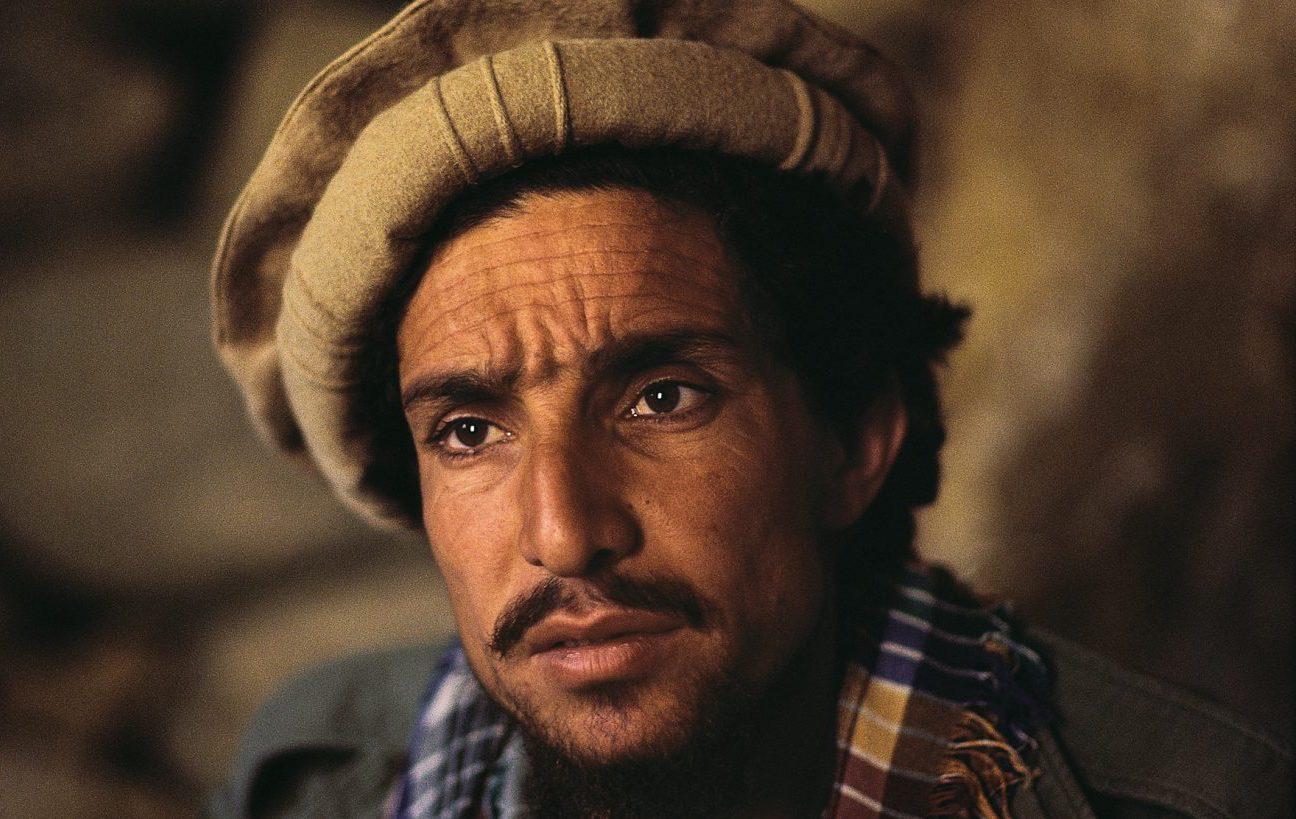Le commandant Massoud, photographié par Reza.