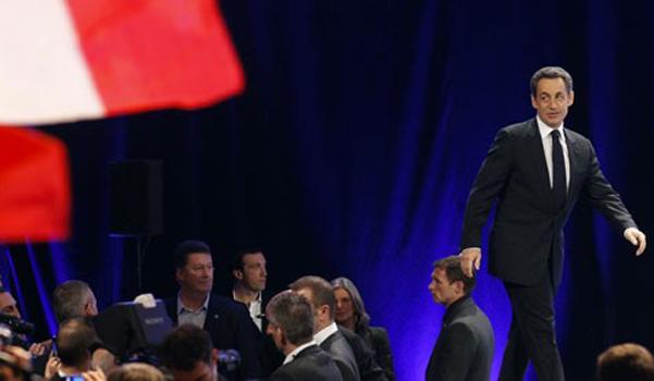 Nicolas Sarkozy à Marseille le 19 février