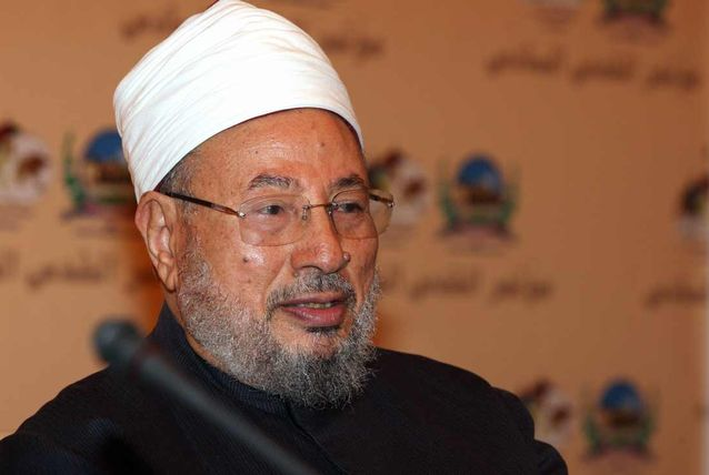 Le dirigeant de l'UISM, cheikh Youssouf Al-Qaradhawi.